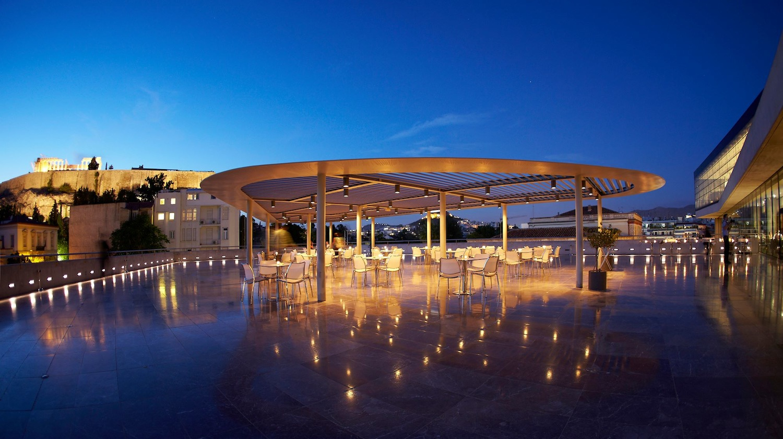Acropolis museun restaurant for Acropolis cuisine